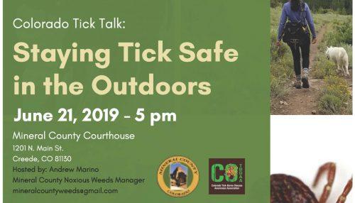 Tick Talk_Mineral County
