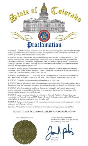2020 Governor's proclamation